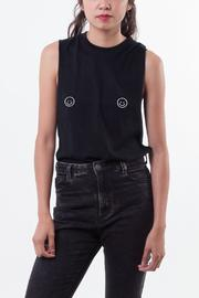Die Katze Happy Face Tee - Front cropped