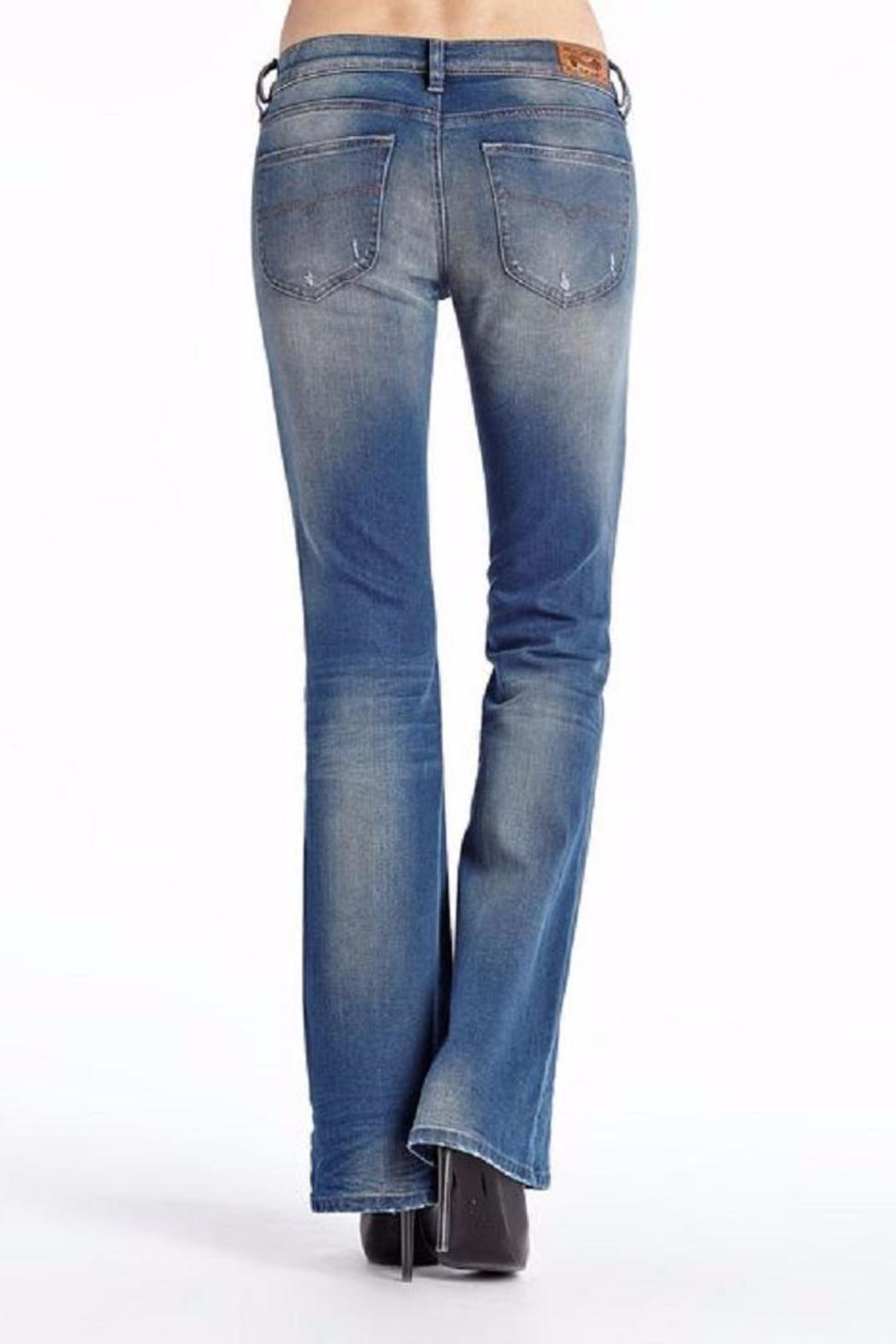 Diesel Jeans Bootcut Distressed Jean - Front Full Image