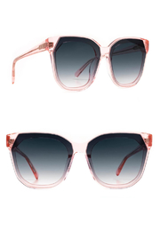 Diff Eyewear DIFF GIA - Rose Crystal + Grey Gradient - Front full body