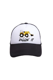 Tiny Trucker Diggin' It Trucker Hat - Product Mini Image