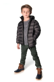 Appaman Digi Camo Down-Puffer - Side cropped
