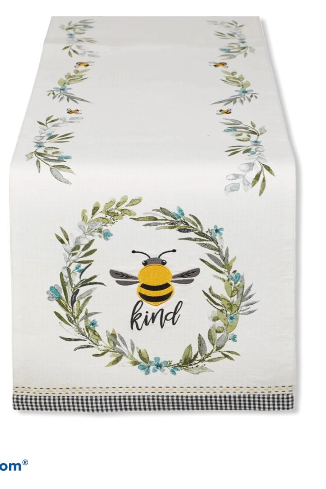 DII Design Imports Bee-Kind Table Runner - Main Image