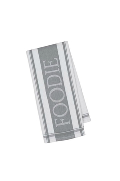 Shoptiques Product: Granite Grey Foodie Towel