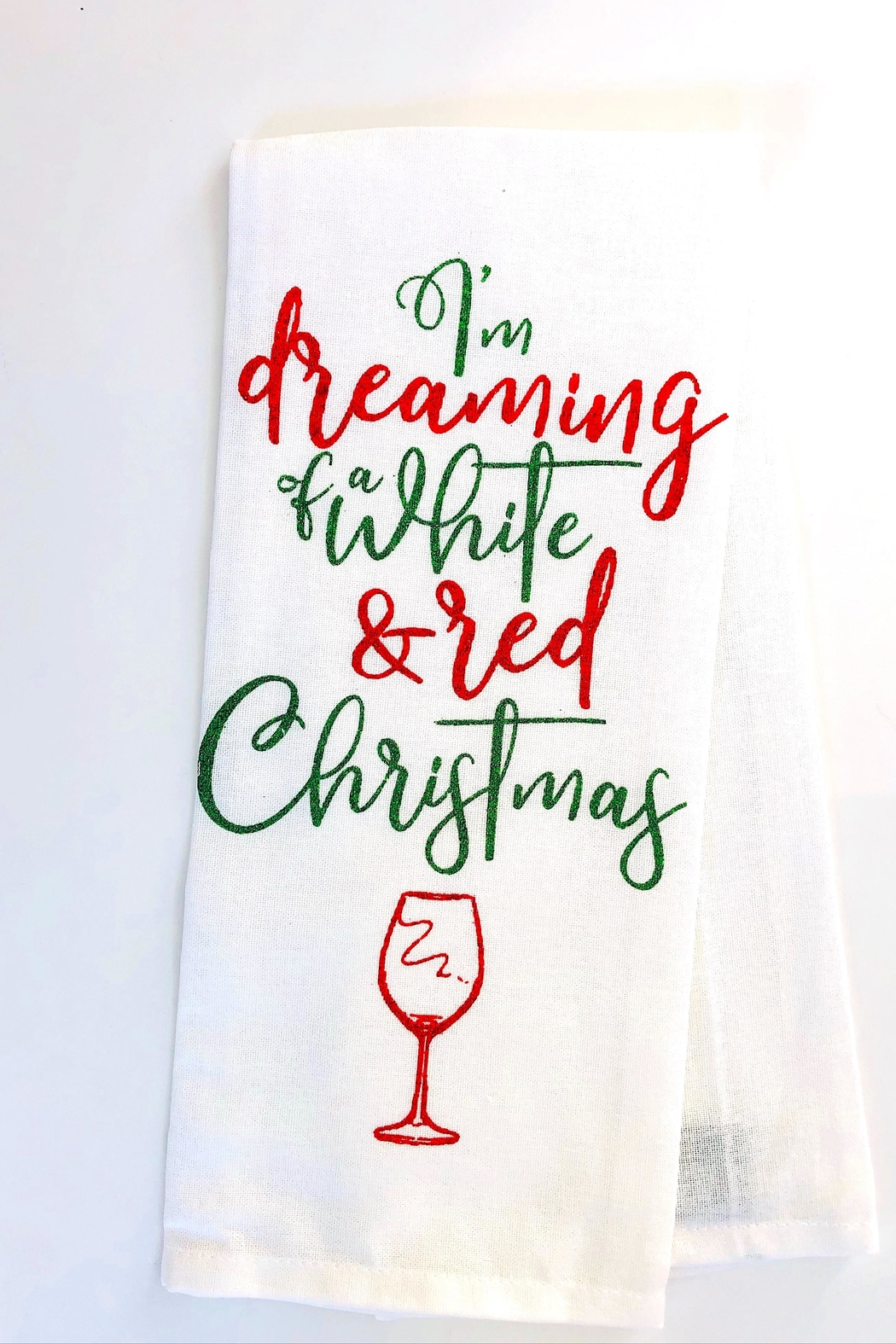 DII Design Imports Holiday Towel - Front Full Image