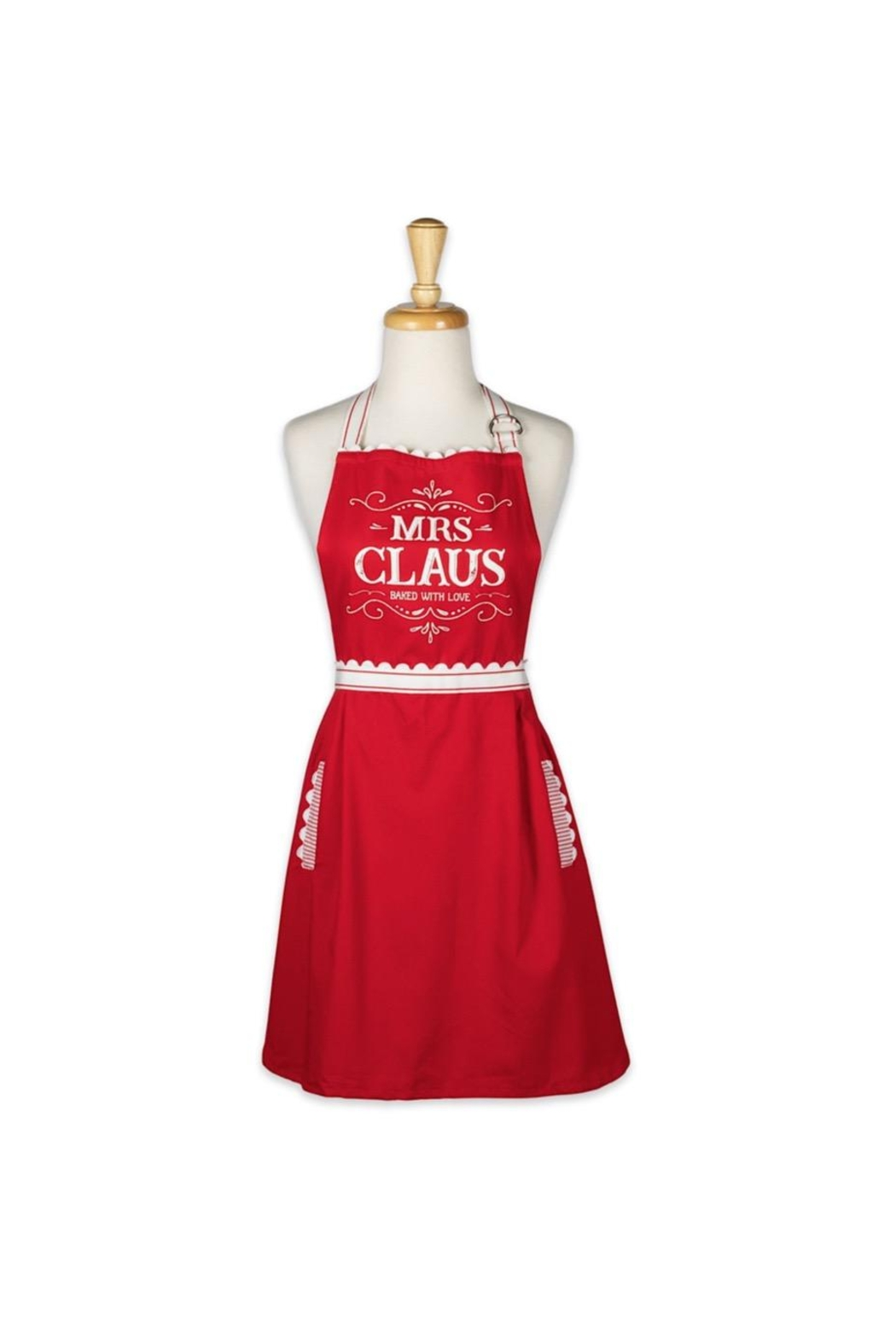 DII Design Imports Mrs Claus Apron - Main Image