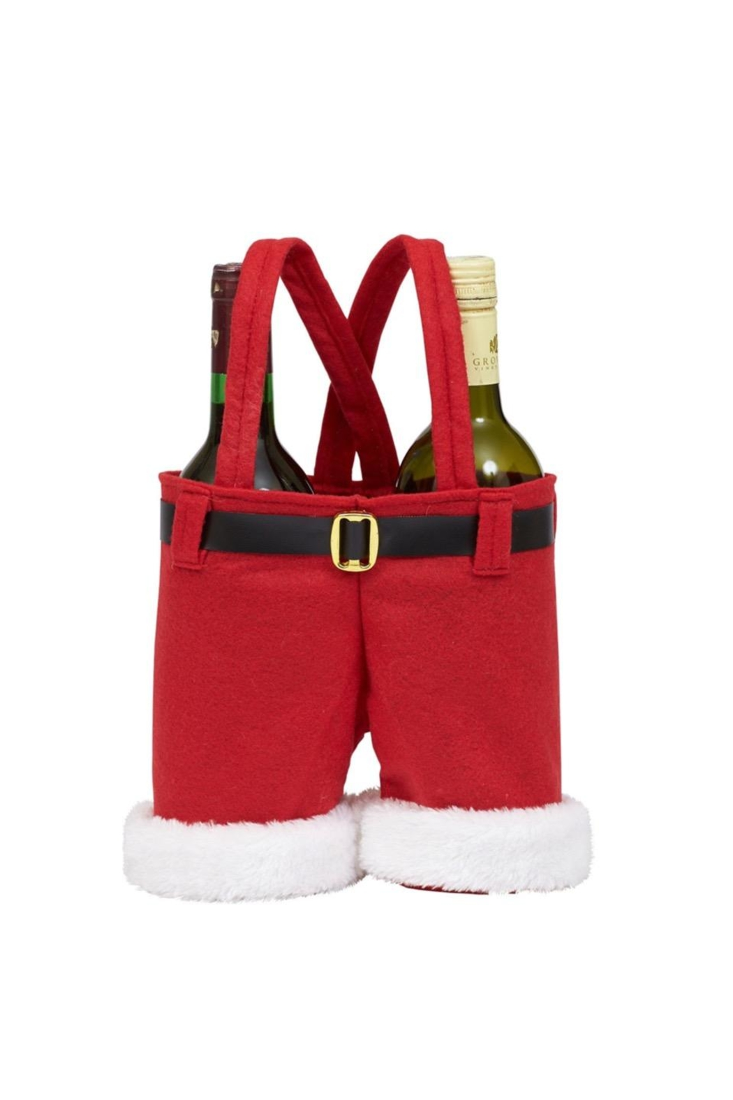 DII Design Imports Santa Wine Caddy - Main Image