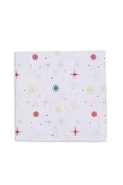DII Design Imports Snowflake Napkin - Front cropped