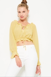 etophe studios Dijon Yellow Top - Product Mini Image