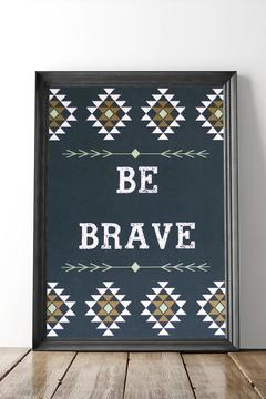 Shoptiques Product: Be Brave Print