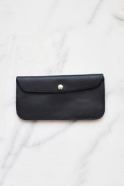 Dime & Regal Black Leather Clutch - Product Mini Image