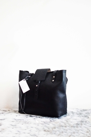Dime & Regal Black Leather Tote-Bag - Product Mini Image