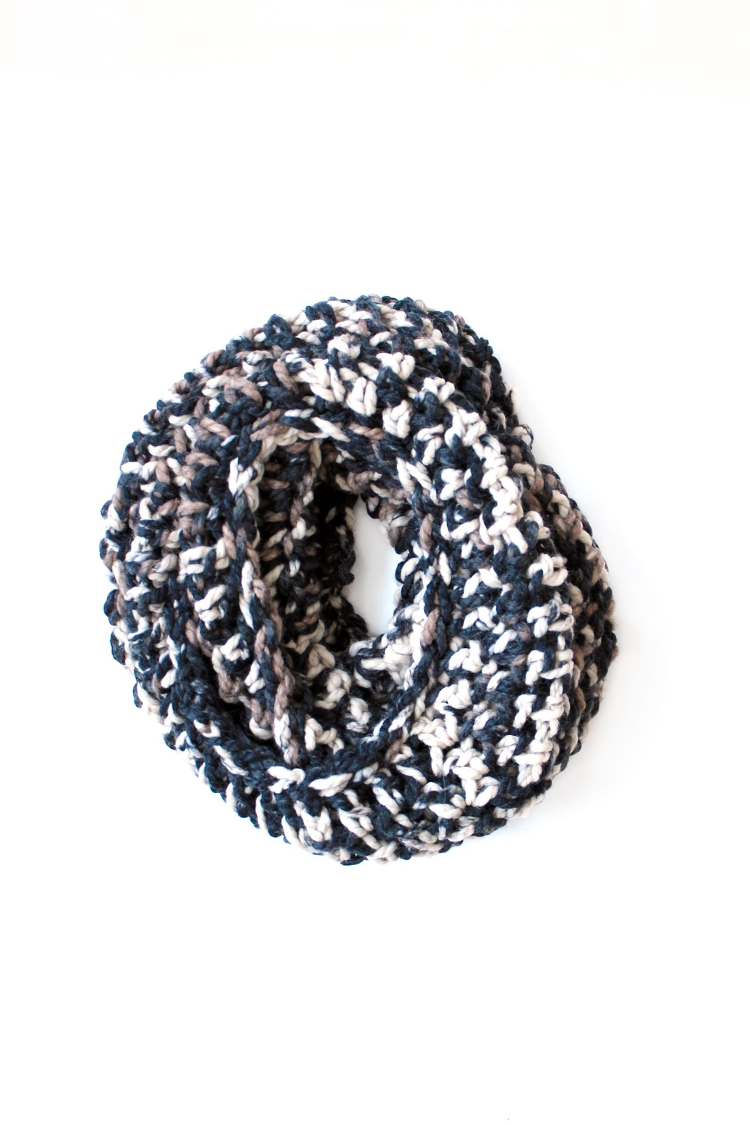 Dime & Regal Calico Infinity Scarf - Main Image