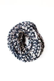 Dime & Regal Calico Infinity Scarf - Front full body