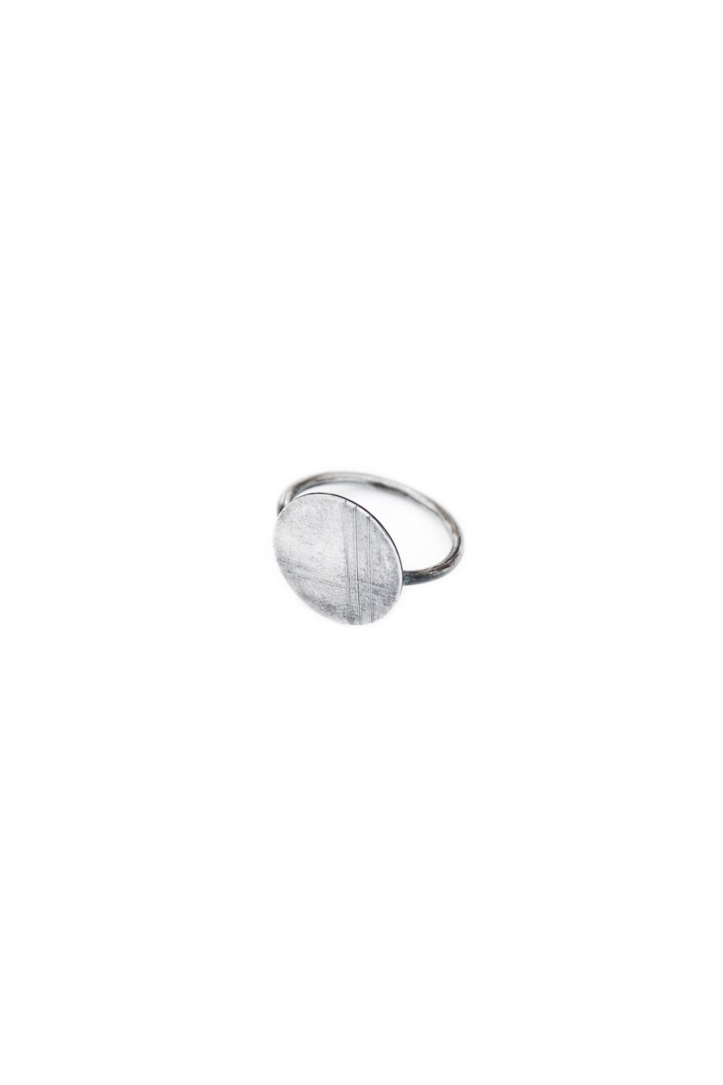 Dime & Regal Clara's Stacking Ring - Side Cropped Image