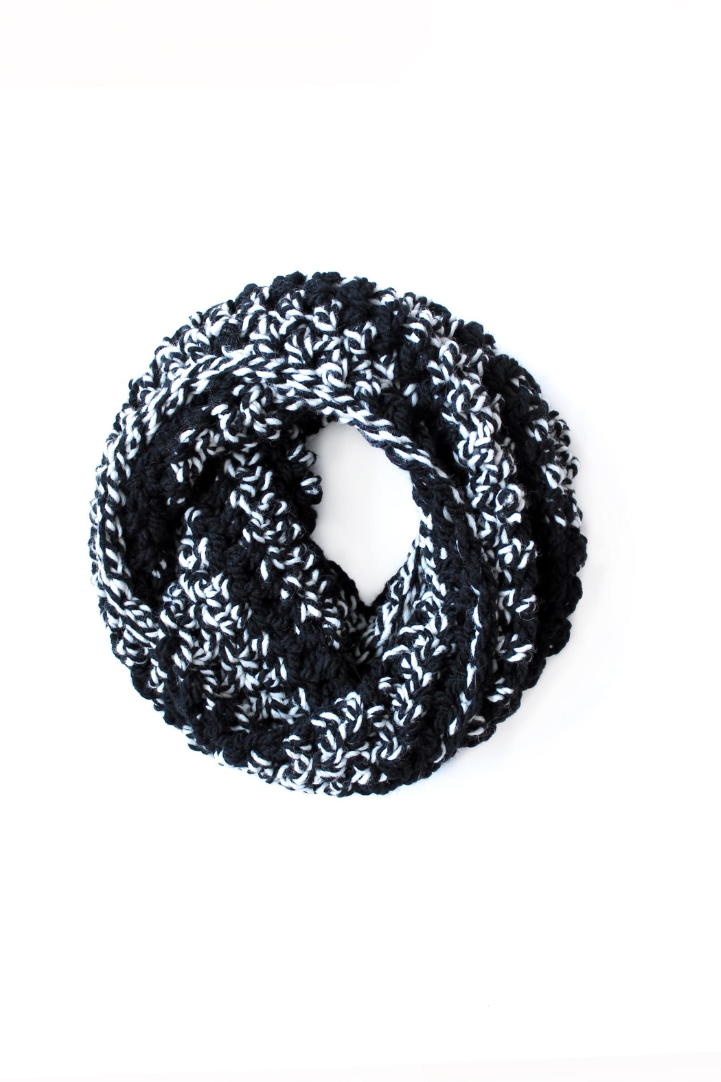 Dime & Regal Coal Infinity Scarf - Front Full Image