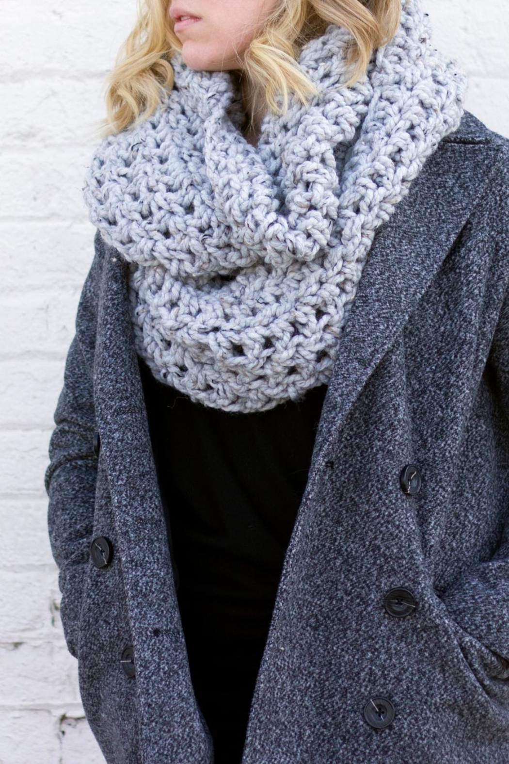 Dime & Regal Granite Infinity Scarf - Front Full Image