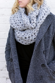Dime & Regal Granite Infinity Scarf - Front full body