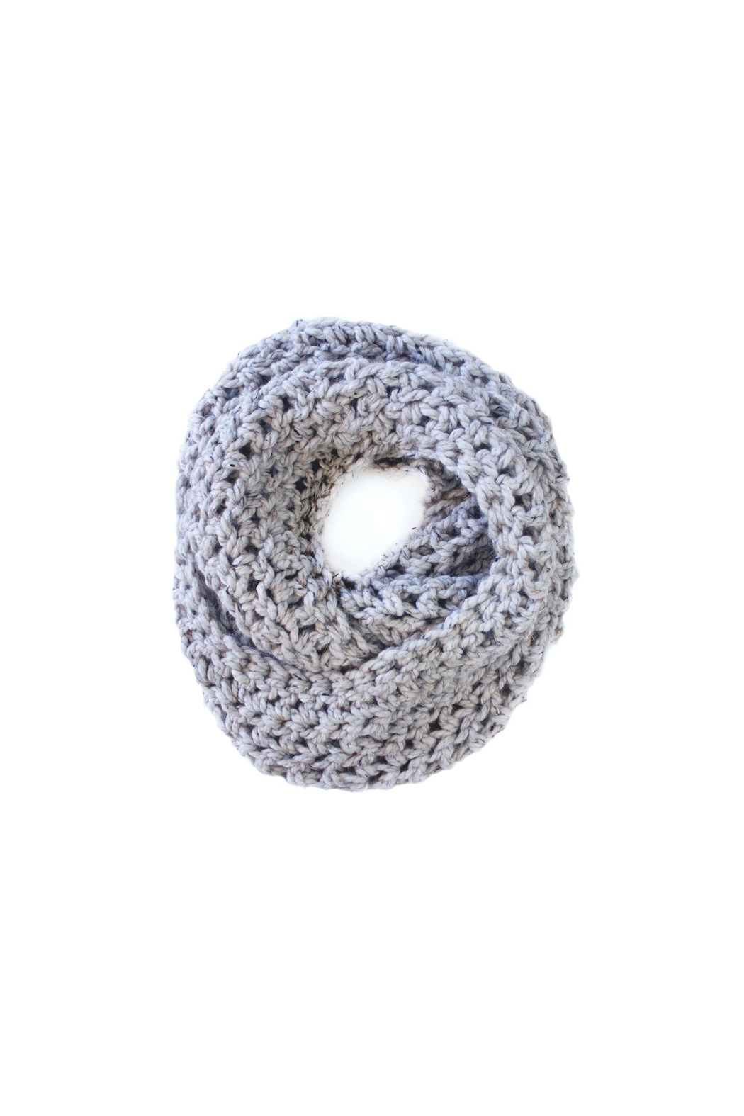Dime & Regal Granite Infinity Scarf - Side Cropped Image