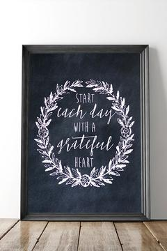 Shoptiques Product: Grateful Heart Print