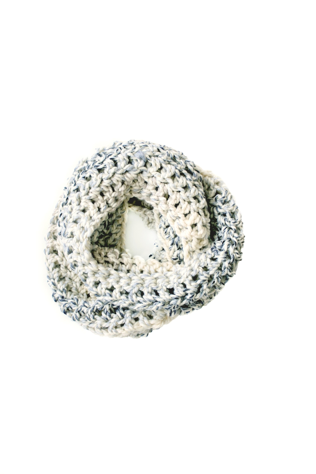 Dime & Regal Seashell Infinity Scarf - Front Full Image