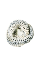 Dime & Regal Seashell Infinity Scarf - Front full body