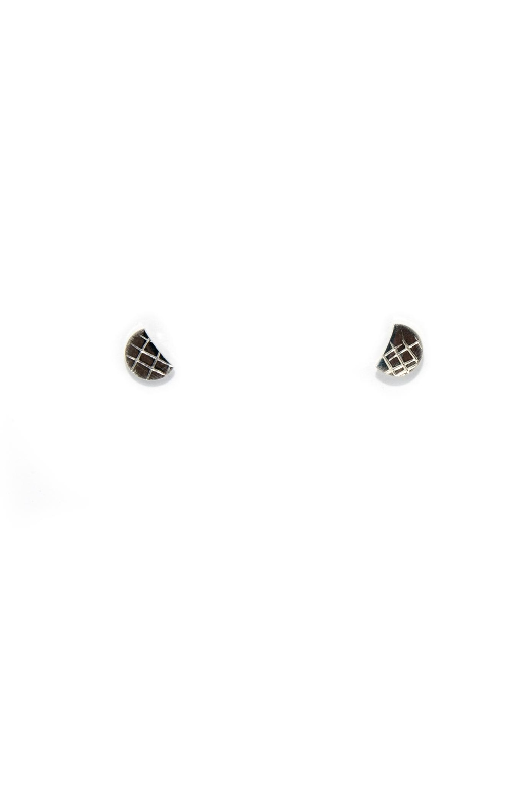 Dime & Regal Sun & Moon Studs - Side Cropped Image