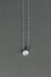 Dime & Regal Trixie Silver-Drop Necklace - Front full body