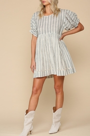 Blank Paige Dimensional Stripe Dress - Product Mini Image