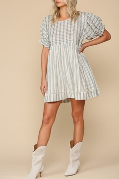Blank Paige Dimensional Stripe Dress - Product List Image