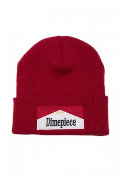 Shoptiques Product: Smoke Red Beanie