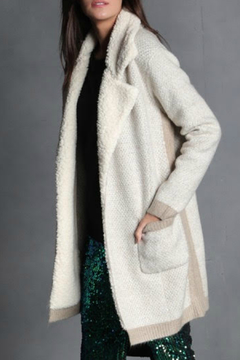 Shoptiques Product: Dina Sherpa Front Pocket Sweater Cardigan