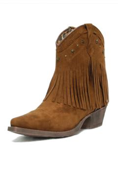Dingo Fringe Cowboy Boot - Alternate List Image