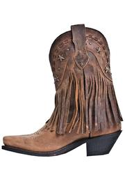 Dingo Hanglow Fringe Boots - Front cropped