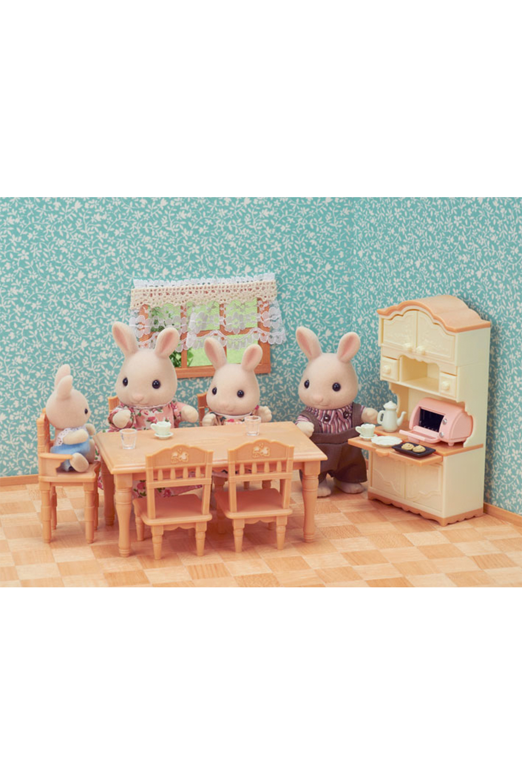 Calico Critters Dining Room set - Front Full Image