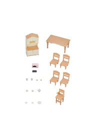 Calico Critters Dining Room set - Front cropped