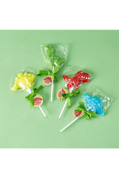 Cupcakes and Cartwheels Dino-Bite Dinosaur Lollypop - Product List Image