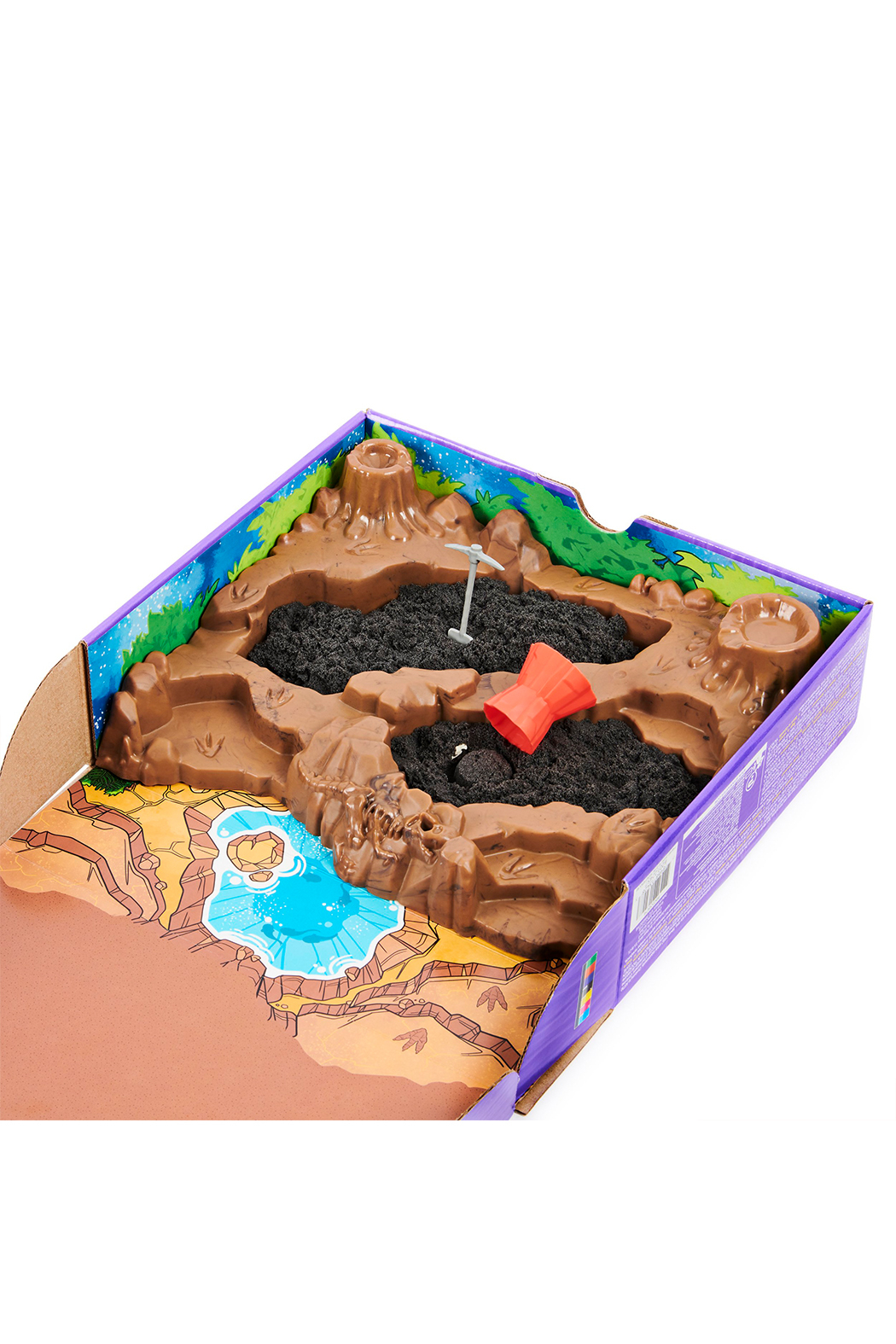 Kinetic Sand Dino Dig Playset - Side Cropped Image