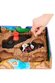 Kinetic Sand Dino Dig Playset - Back cropped