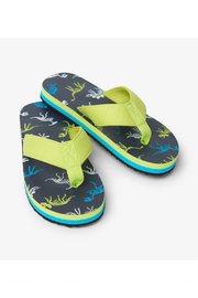 Hatley Dino Fossils Flip Flops - Product Mini Image