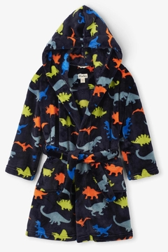 Hatley Dino Herd Fleece Robe - Product List Image