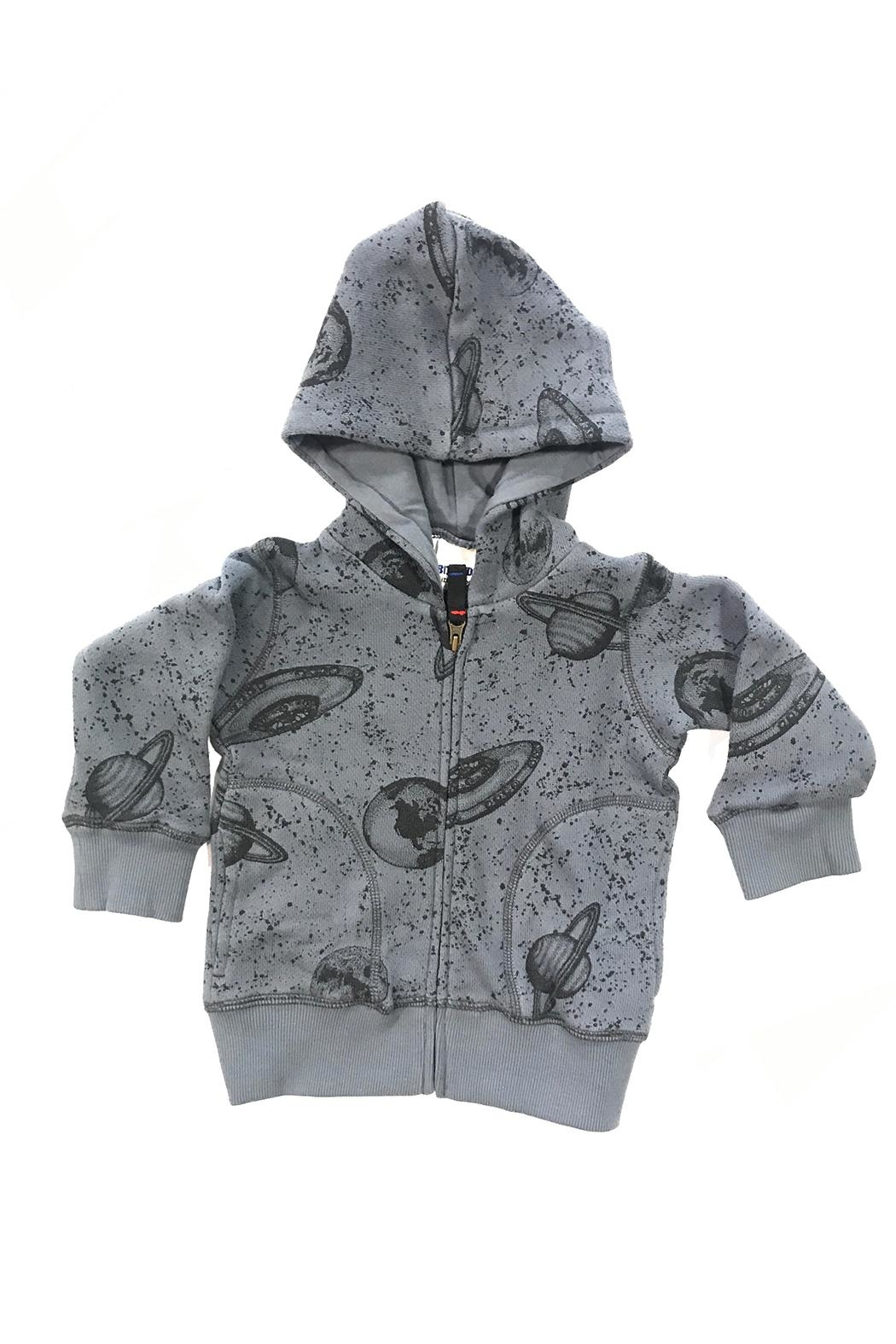 Bit'z Kids Space Print Hoody - Front Cropped Image