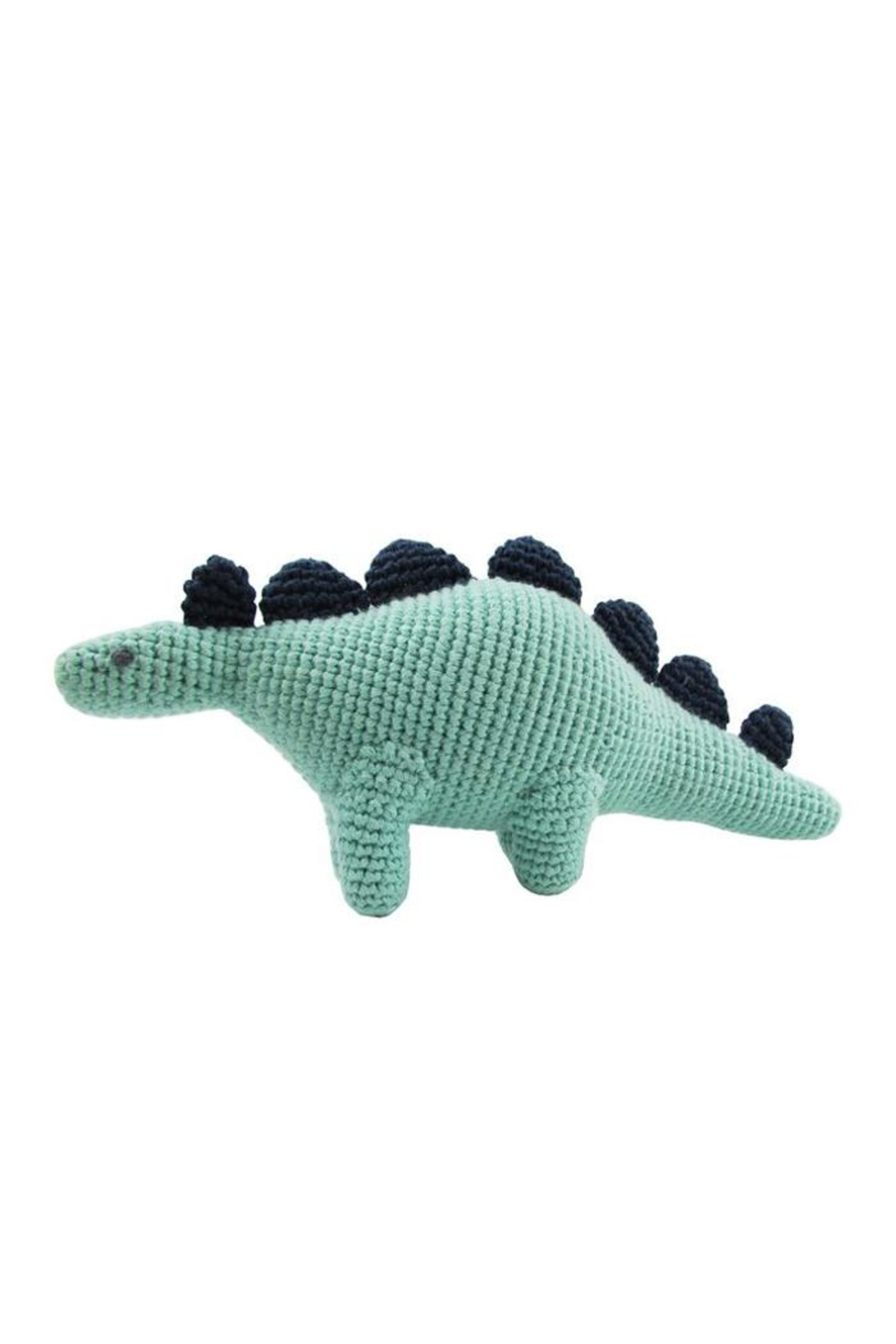 Albetta Dinosaur Crochet Rattle - Front Cropped Image