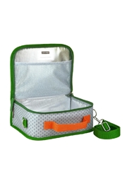 Petit Collage Dinosaur Lunch Box - Front full body