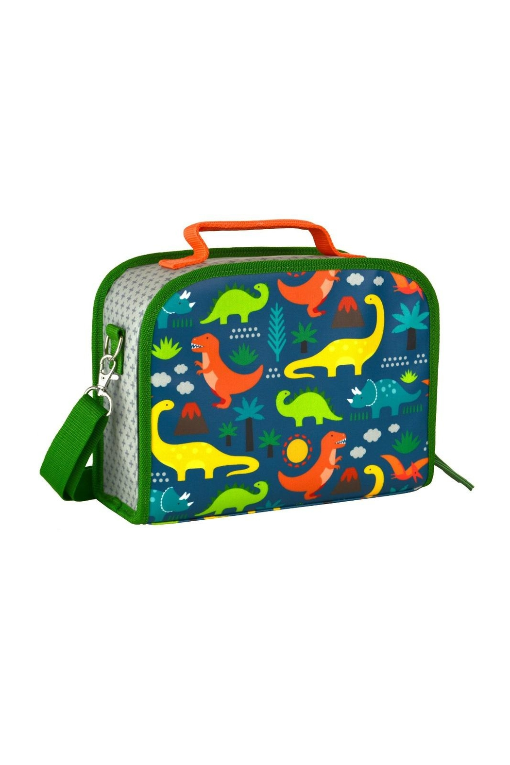 Petit Collage Dinosaur Lunch Box - Front Cropped Image