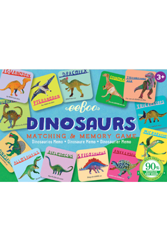Eeboo Dinosaurs Little Matching Game - Product List Image
