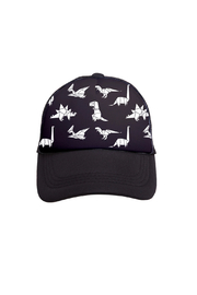 Tiny Trucker Dinosaurs Trucker Hat - Product Mini Image