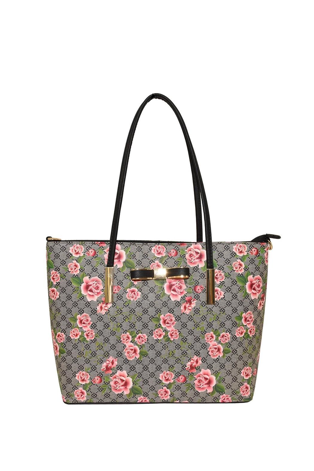 Diophy Large Floral Tote - Main Image