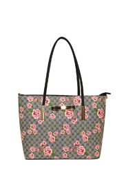 Diophy Large Floral Tote - Product Mini Image