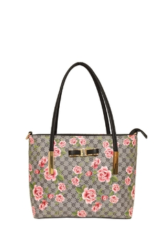 Diophy Small Floral Tote - Alternate List Image