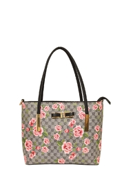 Diophy Small Floral Tote - Product Mini Image